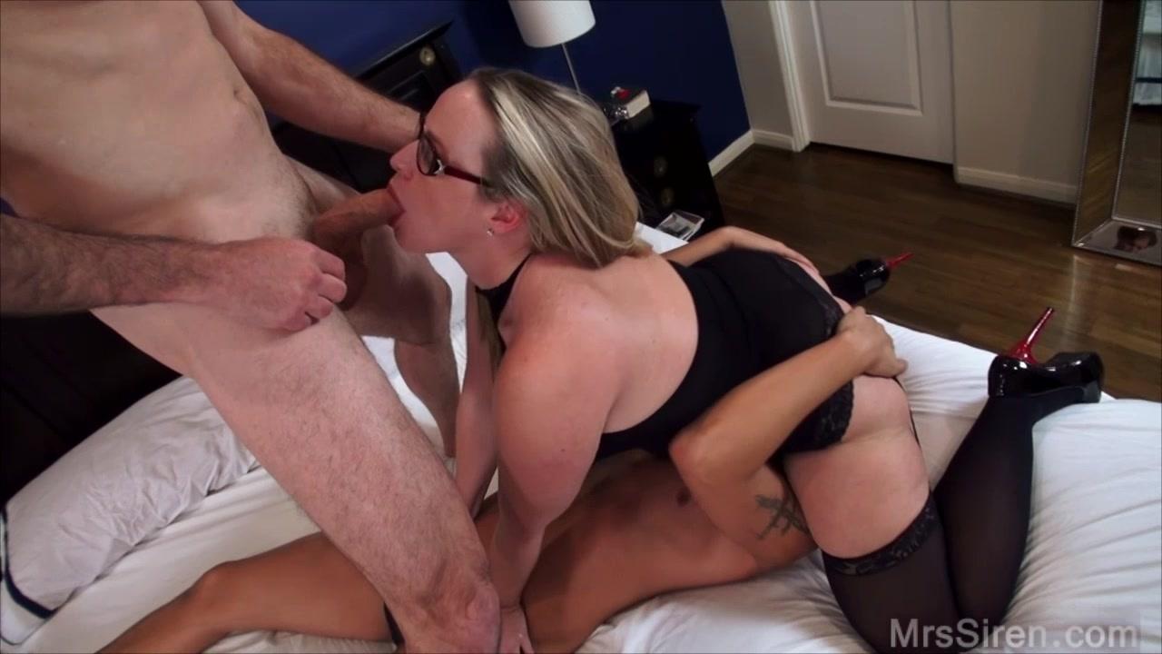 cuckold strokers threesome - siren xxx studios ~ real women real sex!